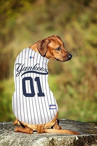 newest 5f707 1a3c6 Pets First Mlb New York Yankees Dog Jersey, X-small
