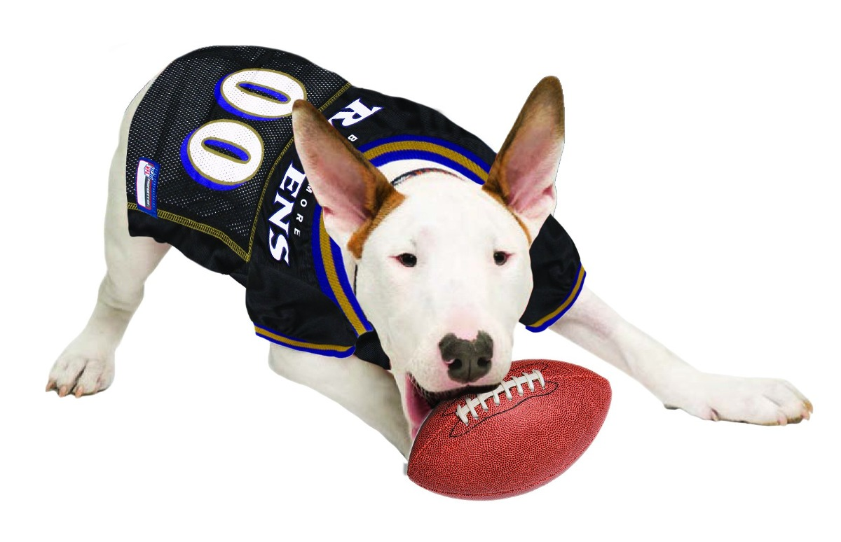 Pets First Nfl Baltimore Ravens Jersey Ropa Para Mascotas, X ...