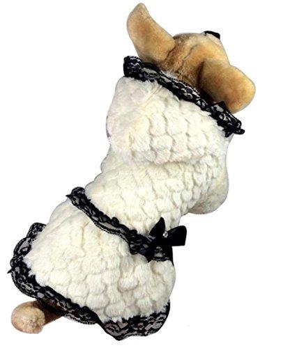 petslove calido navidad perro ropa gato falda vestidos de ni