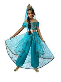 6f339d2ba Pettigirl Disfraz Jazmin Aladino Disney Fiesta Halloween 006