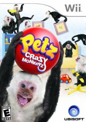 petz: crazy monkeyz wii