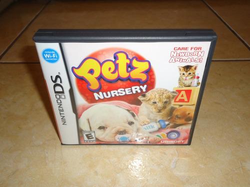 petz nursery nintendo ds + completo + como nuevo +++