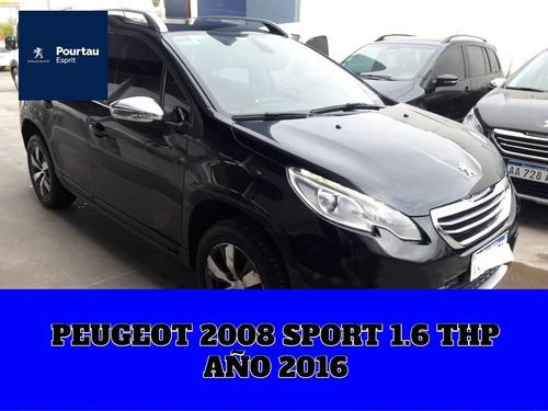 peugeot 2008 sport 1.6 thp 2016