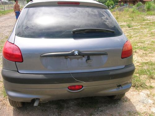 peugeot 206 1.0 16v 2002 gasolina 4 portas sucata rspeças