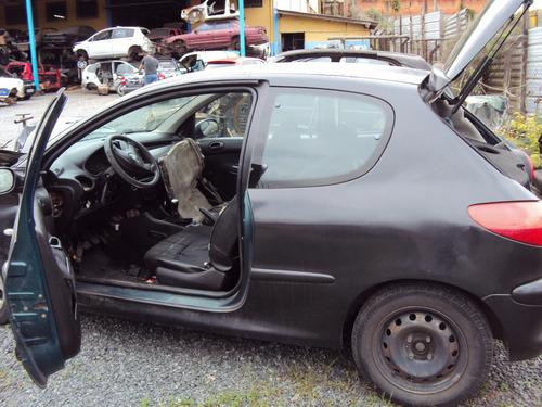 peugeot 206 1.0 16v e 1.4 8v 2001 á 2008 sucata p/ ret peças
