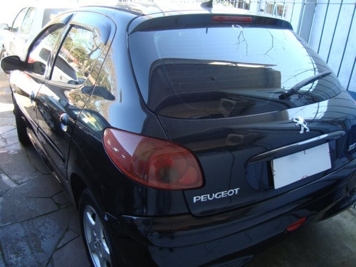 peugeot 206 1.4 moonlight 8v flex 4p manual