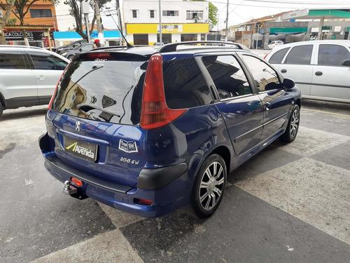 peugeot 206 1.4 presence sw 8v gasolina 4p manual