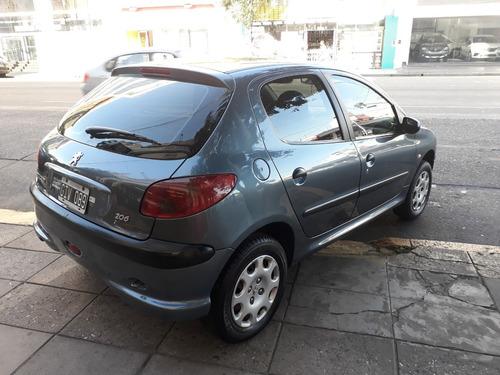 peugeot 206 1.4 x-line 5p año 2007 full