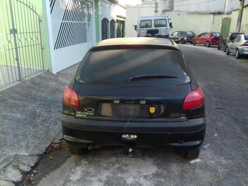peugeot 206 1.6 16v 2007 gasolina