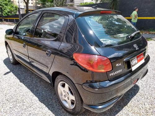 peugeot 206 1.6 16v feline flex aut 2008