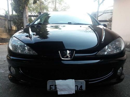 peugeot 206 1.6 16v feline flex aut. 5p-único dono 2008 !!