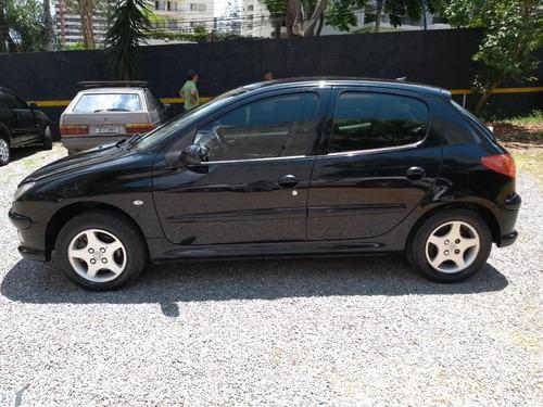 peugeot 206 1.6 16v feline flex automático 2007/2008