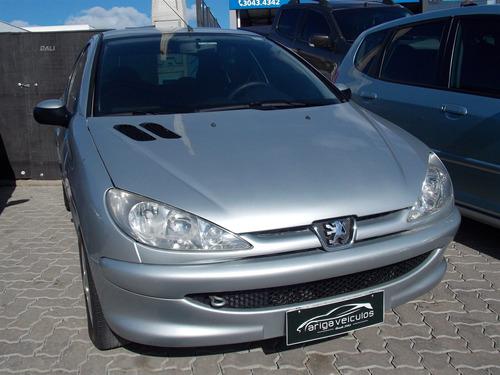 peugeot 206 1.6 presence 16v gasolina 4p manual