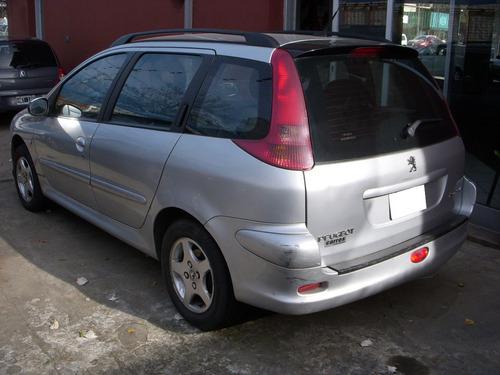peugeot 206 1.6 sw xt premium 2005