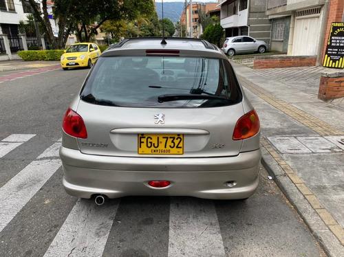 peugeot 206 2007 automatico 1.6