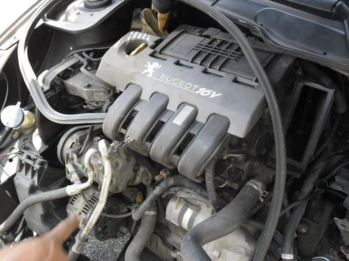 peugeot 206 ano 02 1.0 16v sucata motor cambio porta capo