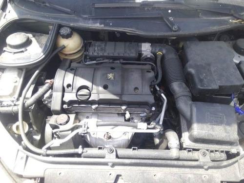 peugeot 206 ano 02 1.6 16v sucata motor cambio porta capo