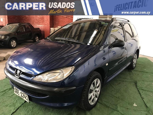 peugeot 206 break full 2006 buen estado