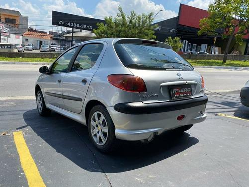 peugeot 206 hatch 2006 completo 1.4 flex 4 portas