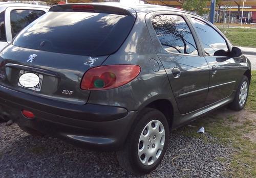 peugeot 206 modelo 2012 - nafta 1.4 5ptas. aa dh