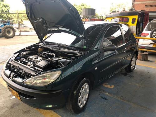 peugeot 206 mt 1400 cc  3 puertas