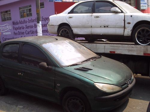 peugeot 206 vendido em partes frente traseira painel lateral