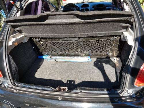 peugeot 206, versión xs premium 1.6, negro, 3 puertas