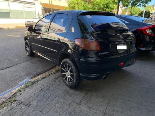 peugeot 206 xrd premium 5 ptas negro 2006