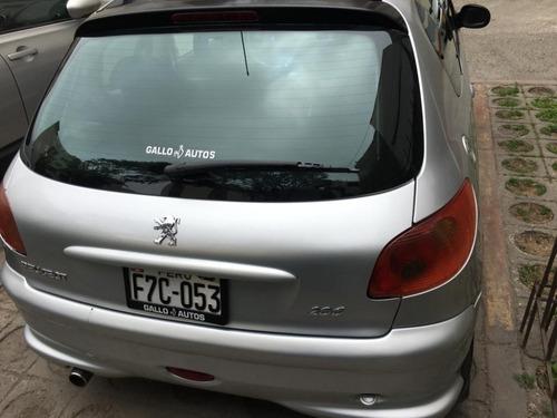 peugeot 206 xs 1.6cc especial del 2005 hatch back 3 puertas