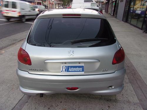 peugeot 206 xt  5 puertas   full 1.6 jr automotores