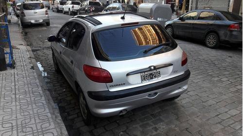 peugeot 206 xtd 2003 diesel  aspirado