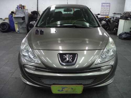 peugeot 207 1.4 xr passion flex airbags completo couro 2012