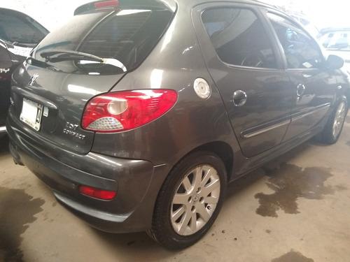 peugeot 207 1.6 sedan xt 2012