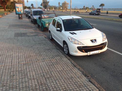 peugeot 207 compact 1.4 (frances) blanco. 71.500 km