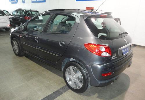 peugeot 207 compact 1.4 quiksilver 5 puertas 2012 excelente.