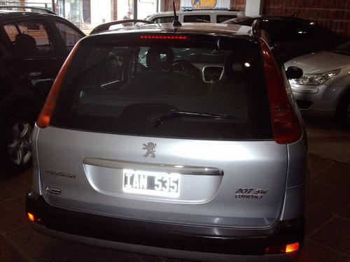 peugeot 207 compact sw xt 2.0 hdi diesel full 2009