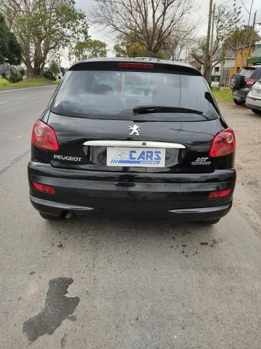 peugeot 207 compact xr 1.4 2011 gnc arcars