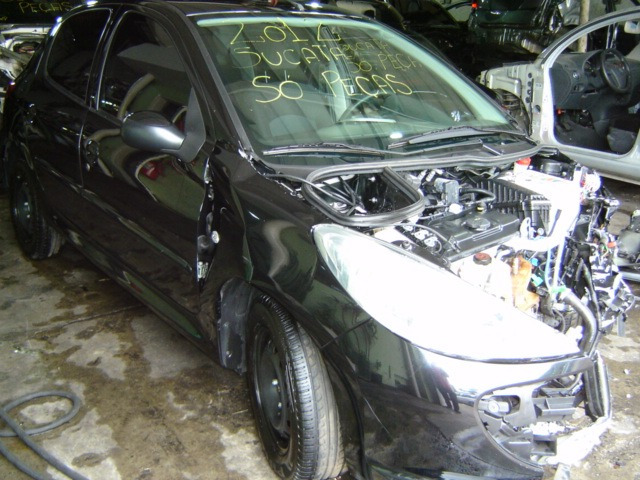 peugeot 207  hatch 1.4 flex  - sucata motor cambio e peças