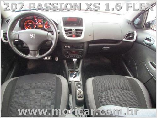 peugeot 207 passion xs 1.6 flex automatico - ano 2010