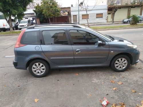 peugeot 207 sw compact 2009 nueva $360000 financio 50%
