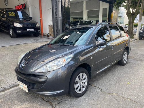 peugeot 207 sw  xr 1.4 8v (flex) flex manual