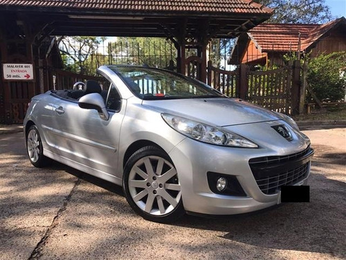 peugeot 207cc cabriolet 1.6 turbo thp, impecable estado