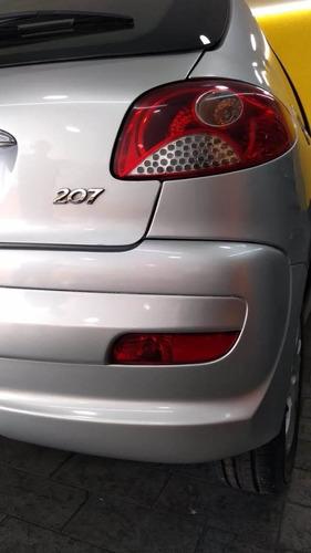 peugeot 207flex  hatch 1.4 5portas 2013 prata