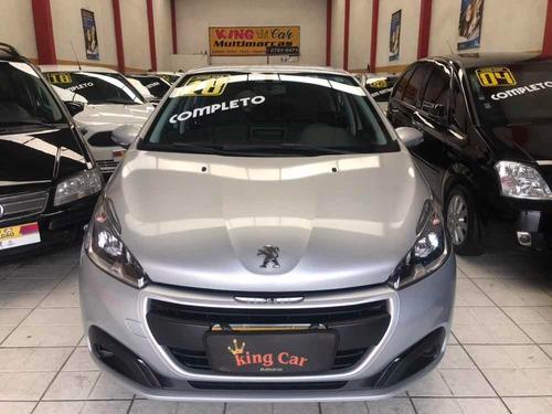peugeot 208 1.2 active flex 5p 2018 kingcar multimarcas