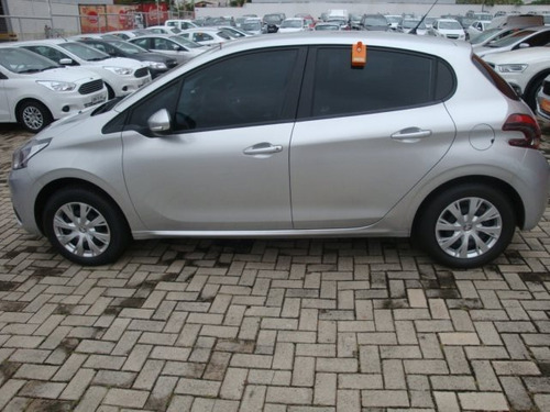 peugeot 208 1.2 active pack 12v flex 4p manual