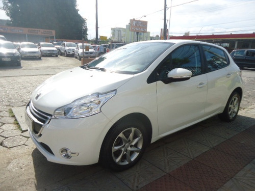 peugeot 208 1.5 active pack flex 5p branco 2016