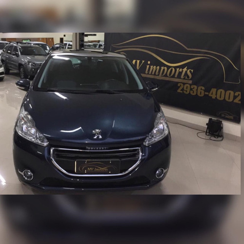 peugeot 208 1.5 allure flex manual 4p 2016