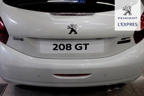peugeot 208 gt thp 1.6 n. unidades disponibles  (m)