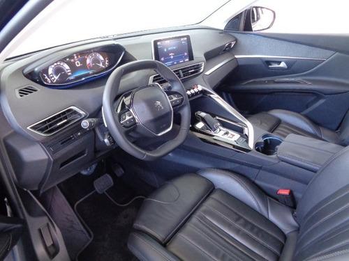 peugeot 3008 1.6 thp griffe aut.(gasolina) preto 2017/2018