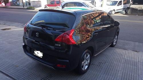 peugeot 3008 1.6t premium plus mt6 156 cv negra 2011